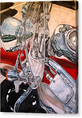 Utah Chrome Canvas Print by Lance Wurst