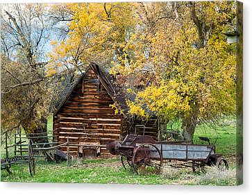 Utah Homestead Canvas Print