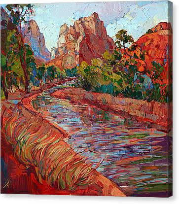 Utah In Color Canvas Print by Erin Hanson