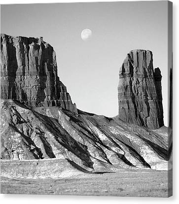 Park Scene Canvas Print - Utah Outback 21 by Mike McGlothlen