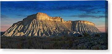Utah Outback 40 Panoramic Canvas Print by Mike McGlothlen
