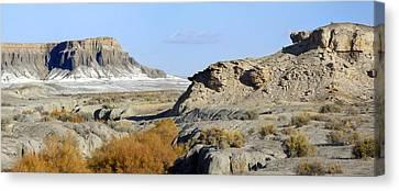 Utah Art Canvas Print - Utah Outback 42 Panoramic by Mike McGlothlen