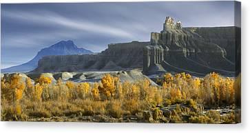 Utah Outback 44 Canvas Print by Mike McGlothlen