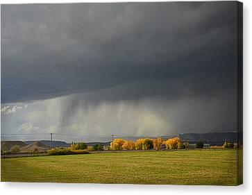 Utah Storm - 2 Canvas Print by Dana Sohr