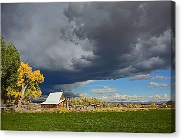 Utah Storm 2 Canvas Print by Dana Sohr