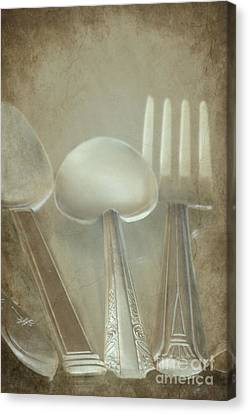 Utensils Canvas Print by Sophie Vigneault
