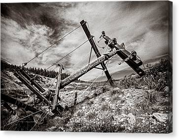 Quartz Mountain 26 Canvas Print by YoPedro