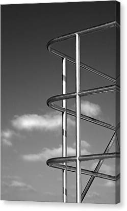 Stainless Steel Canvas Print - Utopia II by Peter Tellone