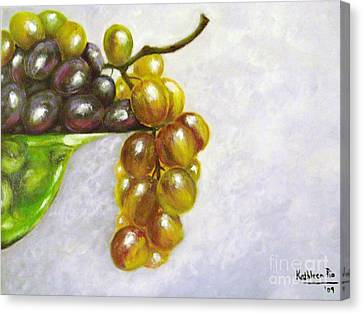 Uva Canvas Print by Kathleen Pio