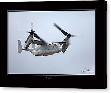 V-22 Osprey Canvas Print by Larry McManus