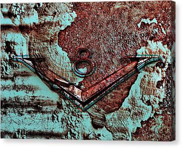 V Eight Canvas Print by Greg Sharpe
