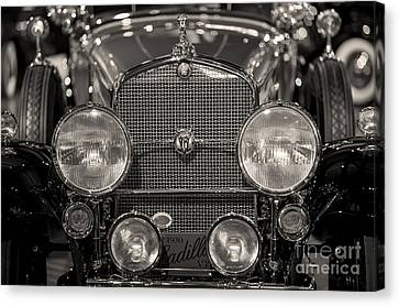 V16 Caddy Canvas Print by Randall  Cogle