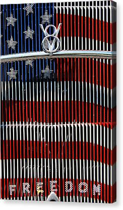 American Independance Canvas Print - V8 Freedom by Jani Freimann