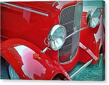 Canvas Print featuring the photograph V8 by Victor Montgomery
