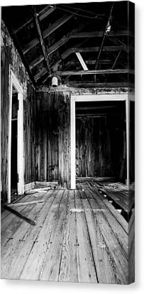 Vacant Canvas Print by Cat Connor