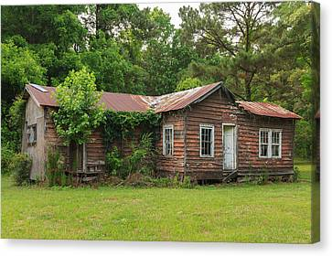 Vacant Rural Home Canvas Print by Patricia Schaefer