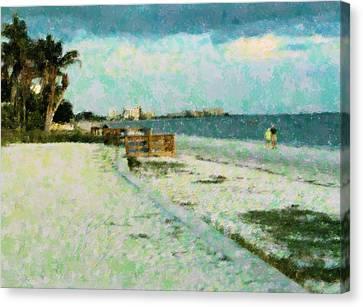 Vacation Favorite Canvas Print by Florene Welebny