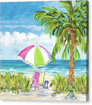 Vacation Getaway Canvas Print by Julie Derice