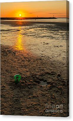 Canvas Print featuring the photograph Vacation by Mike Ste Marie