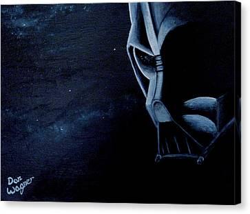 Vader Galaxy Canvas Print by Dan Wagner