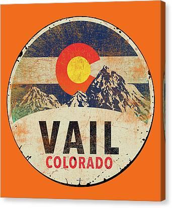 Colorado Canvas Print - Vail by Jim Baldwin