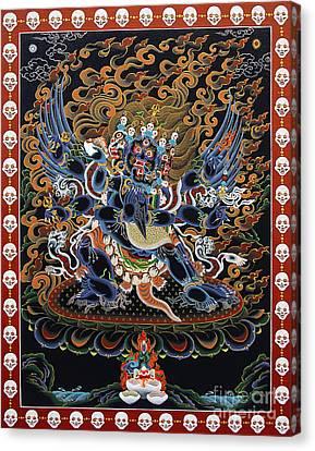 Vajrakilaya Dorje Phurba Canvas Print by Sergey Noskov