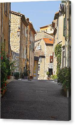 Southern France Canvas Print - Valbonne - French Village Of Contradictions by Christine Till