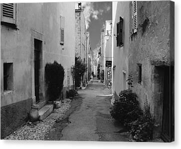 Old Home Canvas Print - Valbonne - Provence-alpes-cote D'azur - France by Christine Till