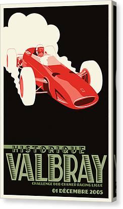 Valbray Historic Grand Prix Canvas Print by Georgia Fowler