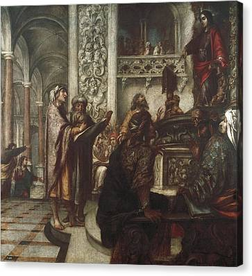 1622 Canvas Print - Vald�s Leal, Juan De 1622-1690. Jesus by Everett