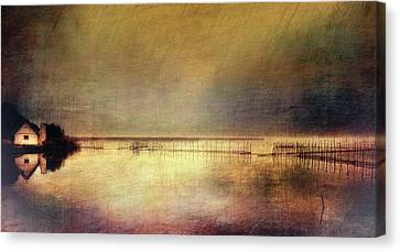 Water Filter Canvas Print - Valencian Landscape (2) by Sol Marrades
