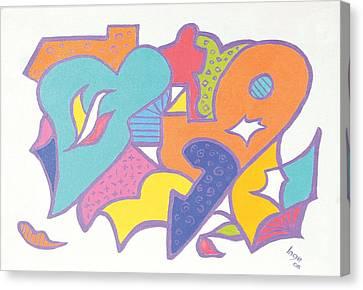 Valentine Heart Canvas Print by Inge Lewis