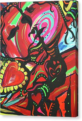 Valentine's Day Canvas Print by Lorinda Fore and Tony Lima