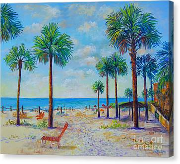 Valerie's View Of Siesta Key Canvas Print