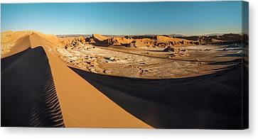 Valley Of The Moon Canvas Print - Valle De La Luna From Sans Dunes by Panoramic Images