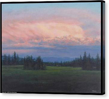 Valley Gold Canvas Print