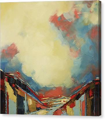 Valley Iv Canvas Print by Sweet Murmur