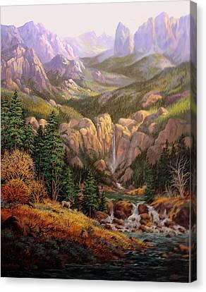 Valley King Canvas Print by W  Scott Fenton