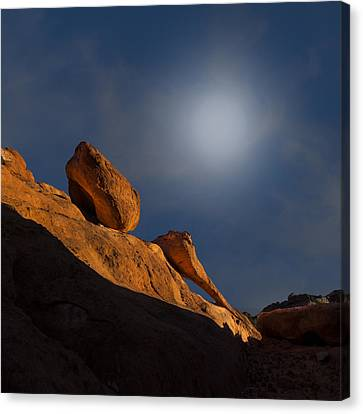 Valley Of Fire Square One Canvas Print