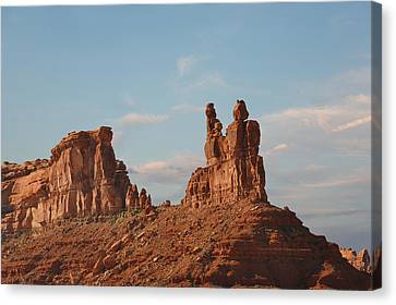 Valley Of The Gods - Escape From Civilization Canvas Print by Christine Till