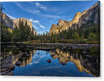 Yosemite Valley Canvas Print - Valley View I by Peter Tellone