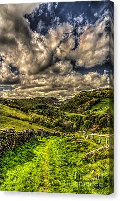 Valley View Canvas Print by Steve Purnell