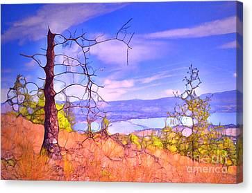 Valley Views Canvas Print by Tara Turner