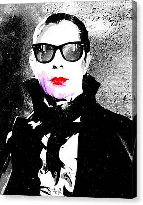 Vamp Glam Canvas Print by Filippo B