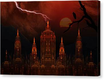 Vampire Palace Canvas Print