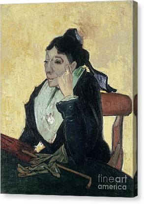 Van Gogh Larlesienne 1888 Canvas Print by Granger