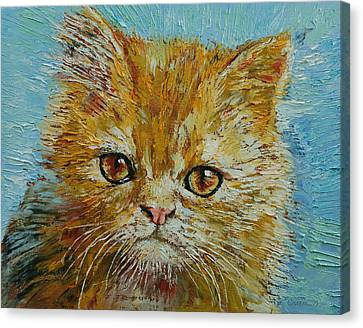 Van Gogh Canvas Print by Michael Creese