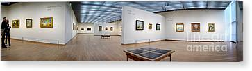 Canvas Print featuring the photograph Van Gogh Museum by Michael Edwards