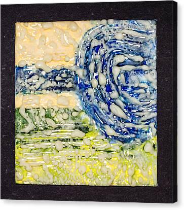 Van Gogh Sky Canvas Print