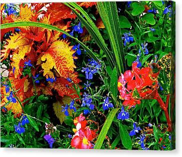 Van Gogh's Garden Canvas Print